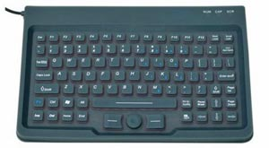 CSK303 Compact Rugged Waterproof Keyboard with Pointer